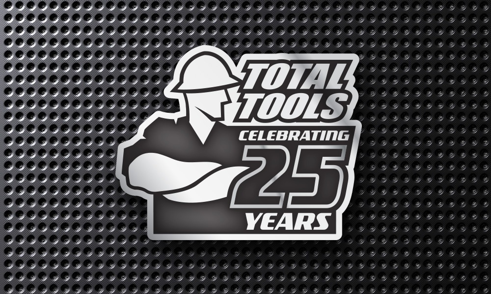 [ Total Tools 25 Years Logo ]