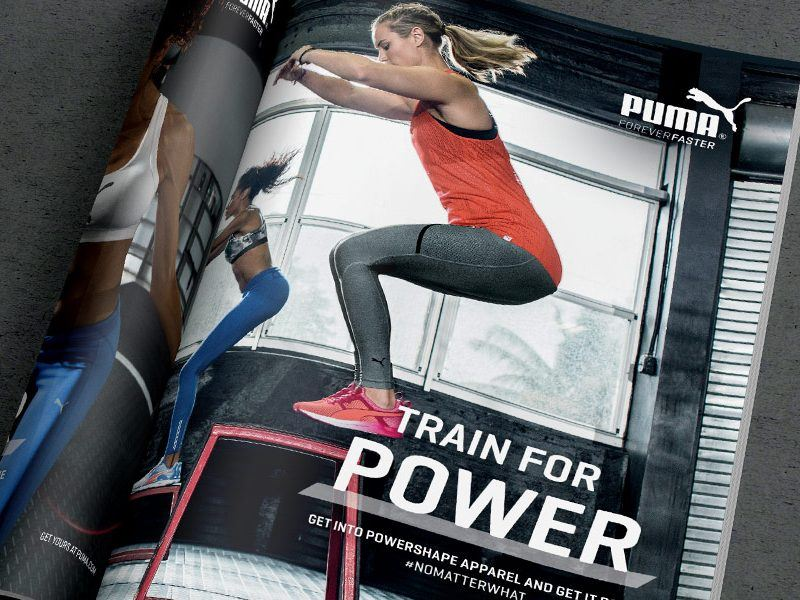 PUMA Magazine Adverts